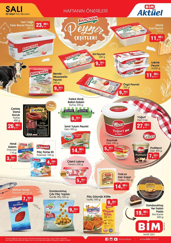 bim bahçıvan peynir fiyatları 2021