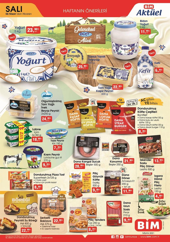 Bim Salı ürünleri