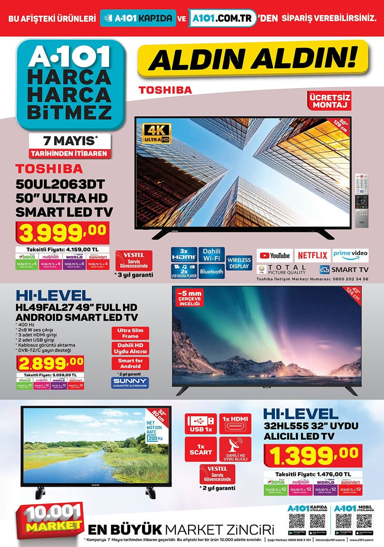 a101 toshiba tv 2021