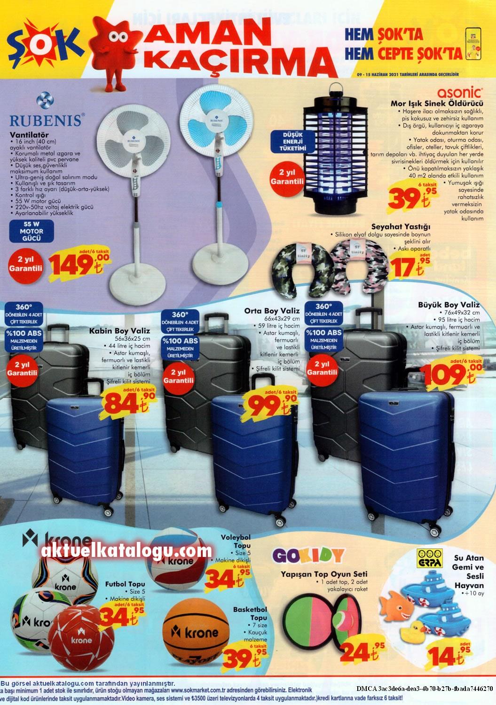 şok bavul fiyatları 2021